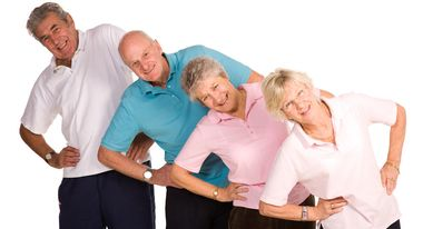 Частный дом и занятия физкультурой в пожилом возрасте
