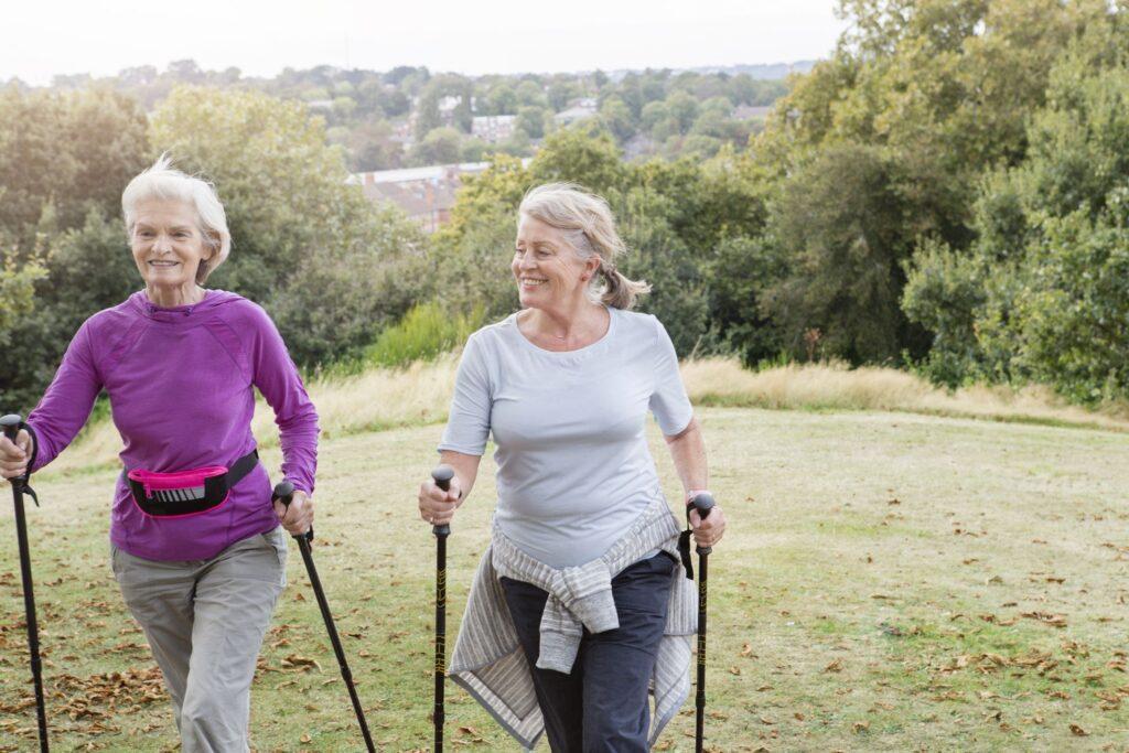 скандинавская ходьба для пожилых людей в киеве
