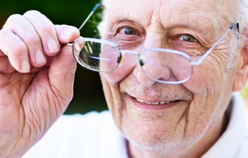 гигиена зрения у престарелых